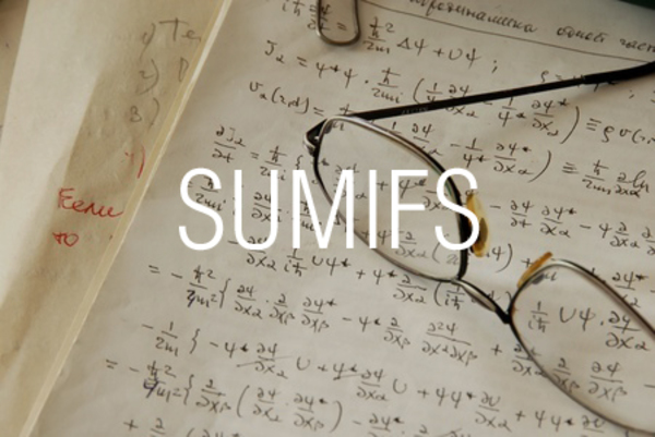 SUMIFS関数で複数の条件を指定して数値を合計する