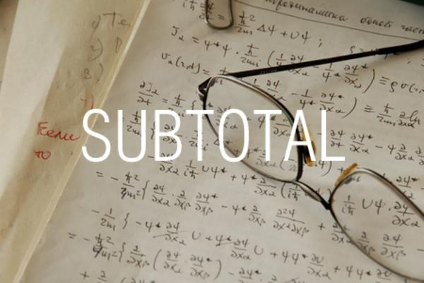 SUBTOTAL関数でさまざまな集計値を求める