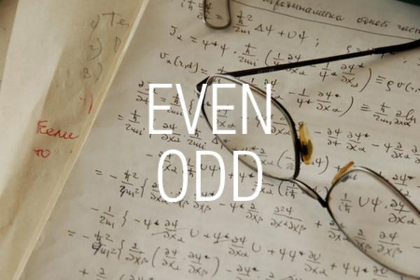 EVEN関数/ODD関数で最も近い偶数または奇数になるように切り上げる