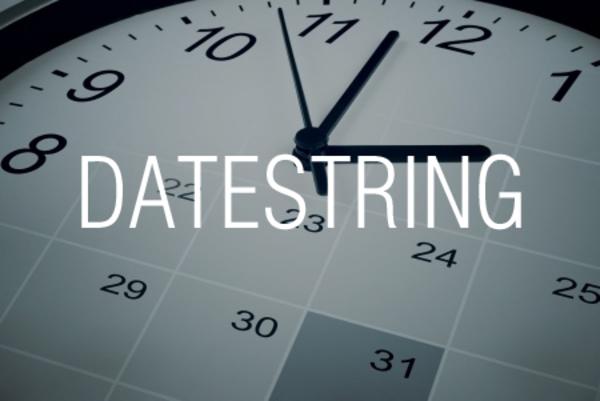 DATESTRING関数で日付を和暦に変換する