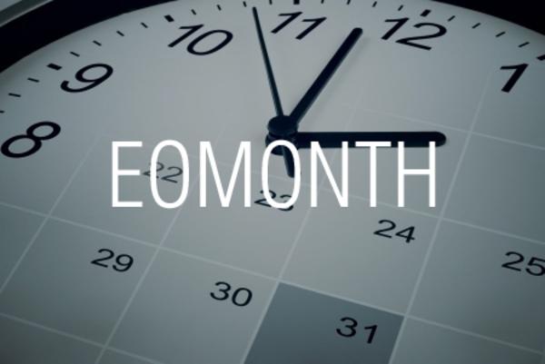 EOMONTH関数で数カ月前や数カ月後の月末を求める