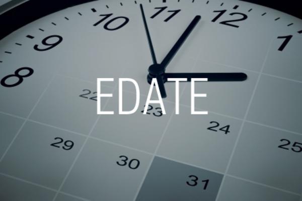EDATE関数で数カ月前や数カ月後の日付を求める