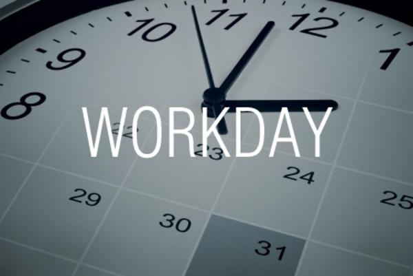 WORKDAY関数で土日と祭日を除外して期日を求める