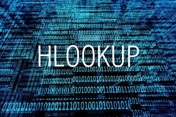 HLOOKUP関数で範囲を横方向に検索する