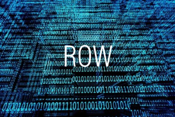 ROW関数でセルの行番号を求める