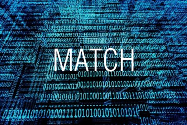 MATCH関数で検査値の相対位置を求める