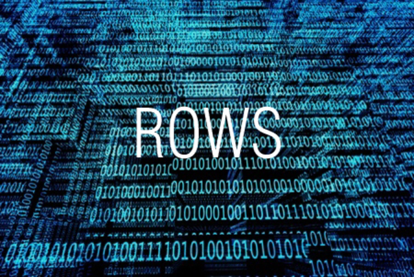 ROWS関数で行数を求める