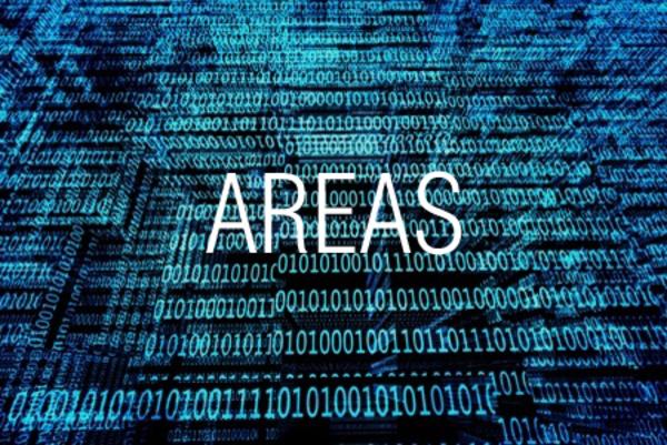 AREAS関数で範囲に含まれる領域数を求める