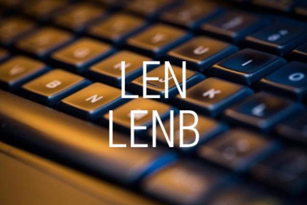 LEN関数/LENB関数で文字列の文字数またはバイト数を求める
