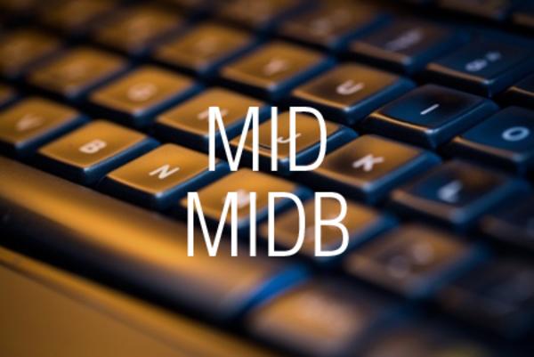 MID関数/MIDB関数で指定した位置から何文字かまたは何バイトかを取り出す