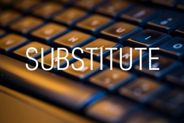 SUBSTITUTE関数で検索した文字列を置き換える