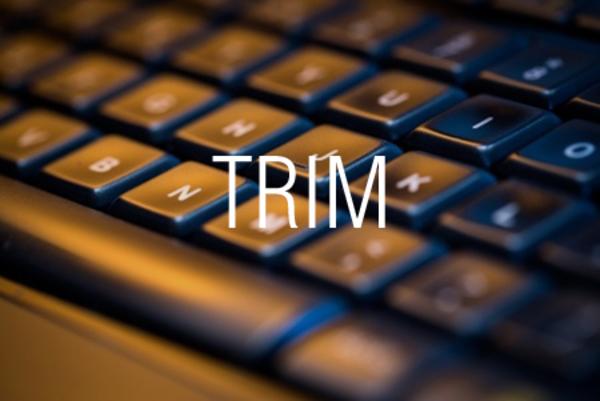 TRIM関数で余計な空白文字を削除する