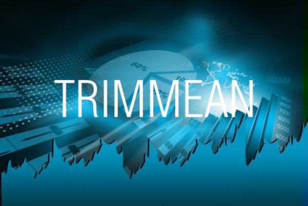 TRIMMEAN関数で極端なデータを除外して平均値を求める