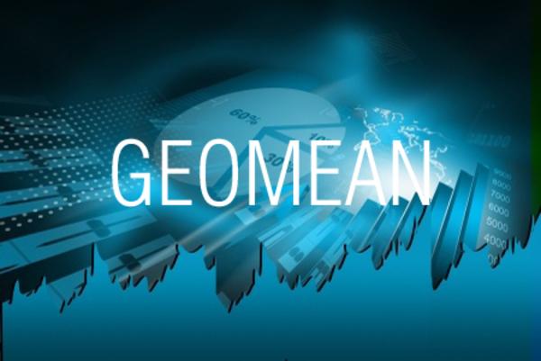 GEOMEAN関数で相乗平均(幾何平均)を求める