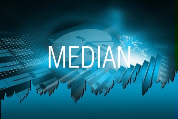 MEDIAN関数で数値の中央値を求める