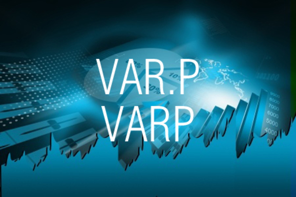 VAR.P関数/VARP関数で数値をもとに分散を求める