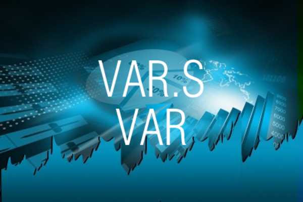 VAR.S関数/VAR関数で数値をもとに不偏分散を求める