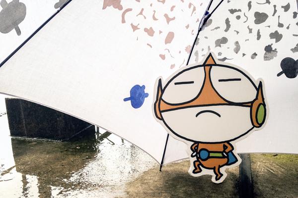 【今日の川柳】梅雨の一句ですもん。