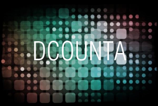 DCOUNTA関数で条件を満たす空白以外のセルの個数を求める