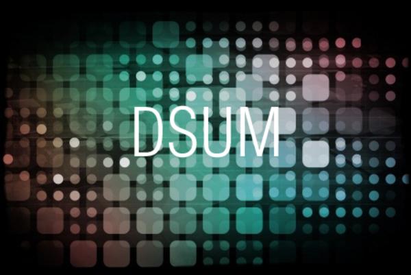 DSUM関数で条件を満たすセルの合計を求める