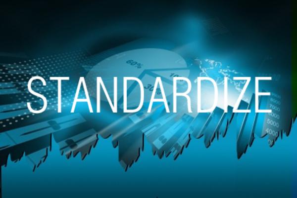 STANDARDIZE関数で数値データをもとに標準化変量を求める