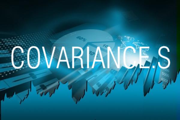 COVARIANCE.S関数で不偏共分散を求める