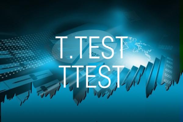 T.TEST関数/TTEST関数でt検定を行う