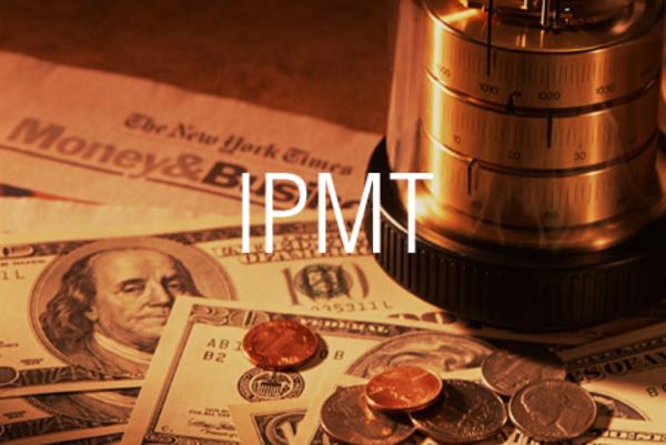 IPMT関数でローンの返済額の金利相当分を求める
