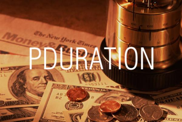 PDURATION関数で投資金額が目標額になるまでの期間を求める