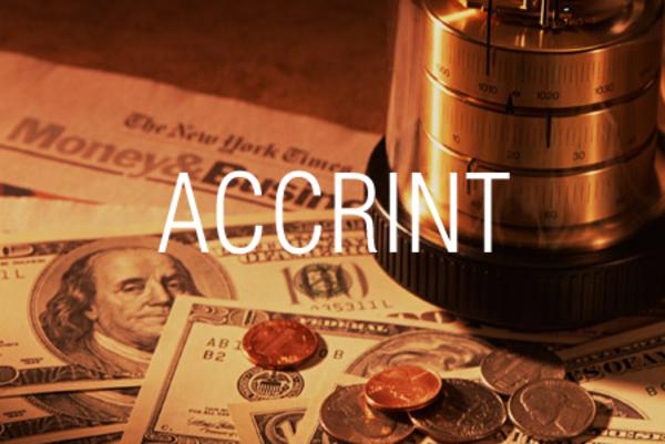 ACCRINT関数で固定利付債の経過利息を求める