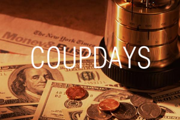 COUPDAYS関数で固定利付債の受渡日が含まれる利払期間の日数を求める