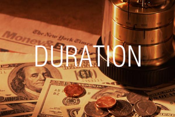 DURATION関数で固定利付債のデュレーションを求める