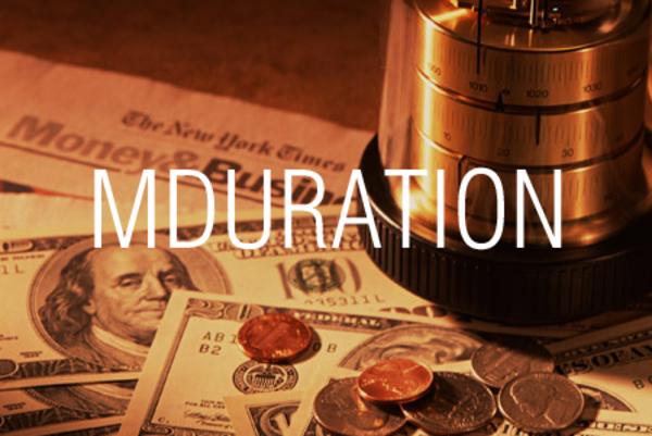 MDURATION関数で固定利付債の修正デュレーションを求める
