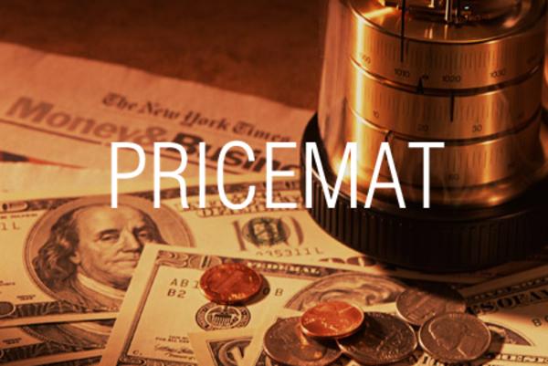 PRICEMAT関数で満期利付債の現在価格を求める