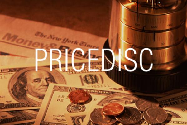 PRICEDISC関数で割引債の現在価格を求める