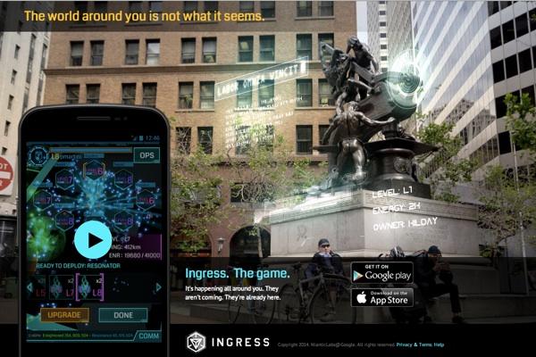 スマホを持って歩こう! AR陣取りゲーム「Ingress」(イングレス)の遊び方まとめ