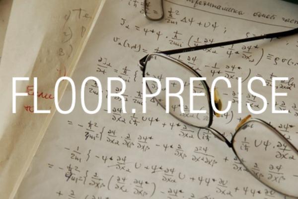 FLOOR.PRECISE関数で数値を基準値の倍数に切り下げる