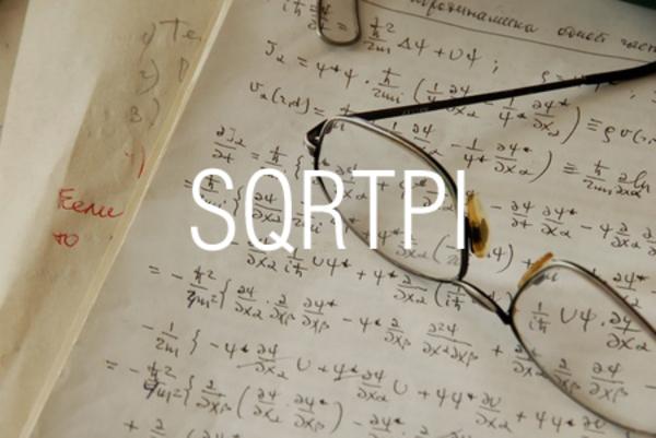 SQRTPI関数で円周率π(パイ)の倍数の平方根を求める