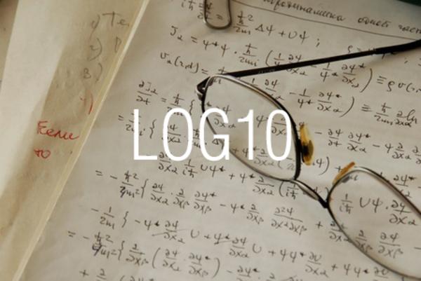 LOG10関数で常用対数を求める