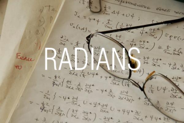 RADIANS関数で度をラジアンに変換する