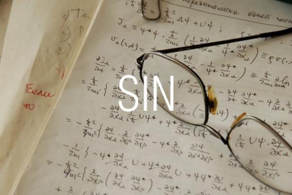 SIN関数で正弦を求める