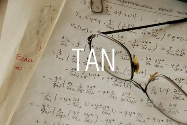 TAN関数で正接を求める