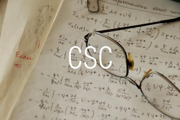 CSC関数で余割を求める