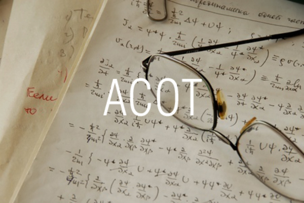 ACOT関数で逆余接を求める