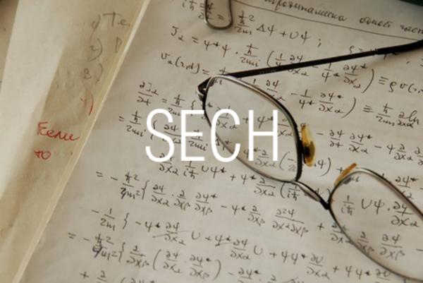 SECH関数で双曲線正割を求める