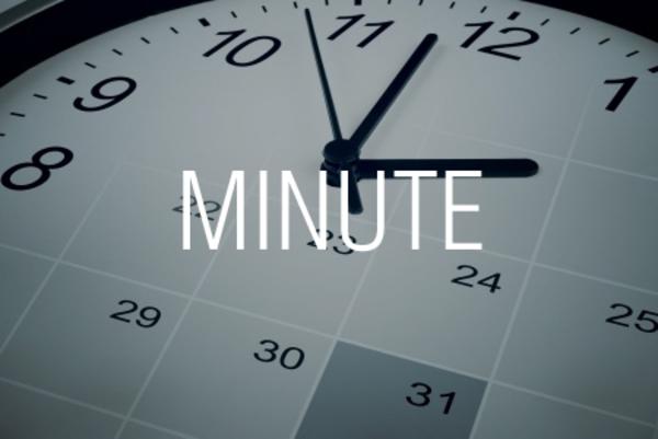 MINUTE関数で時刻から「分」を取り出す