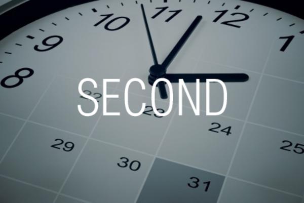 SECOND関数で時刻から「秒」を取り出す