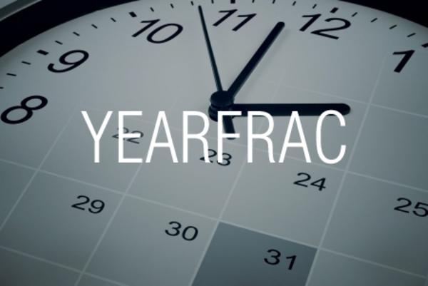 YEARFRAC関数で期間が1年間に占める割合を求める