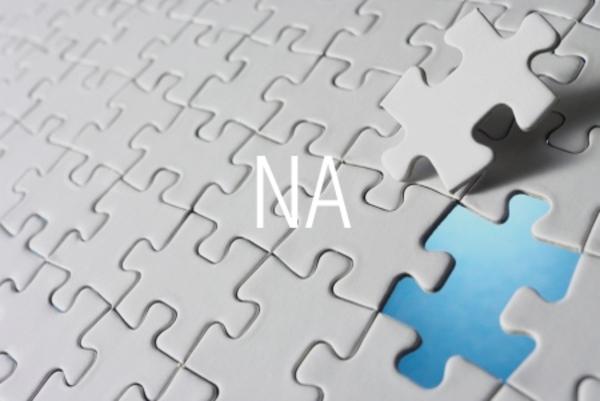 NA関数でエラー値[#N/A]を返す