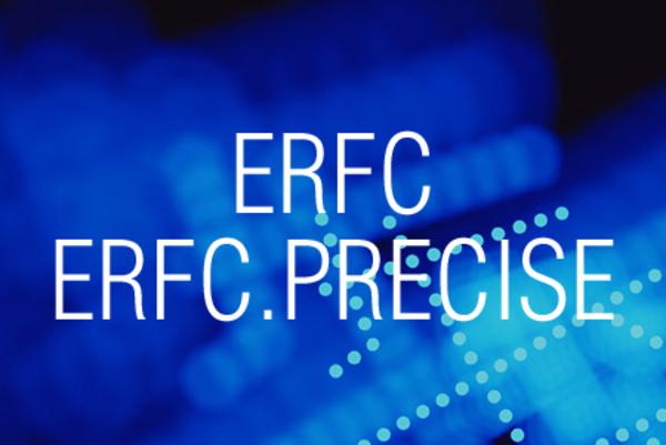 ERFC関数/ERFC.PRECISE関数で相補誤差関数を積分した値を求める